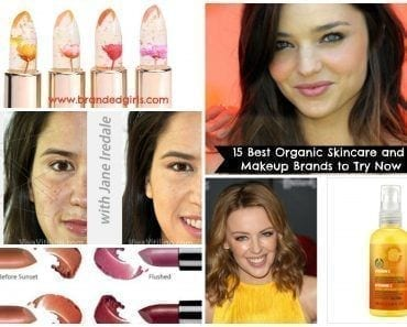 best organic natural makeup skincare brands for women