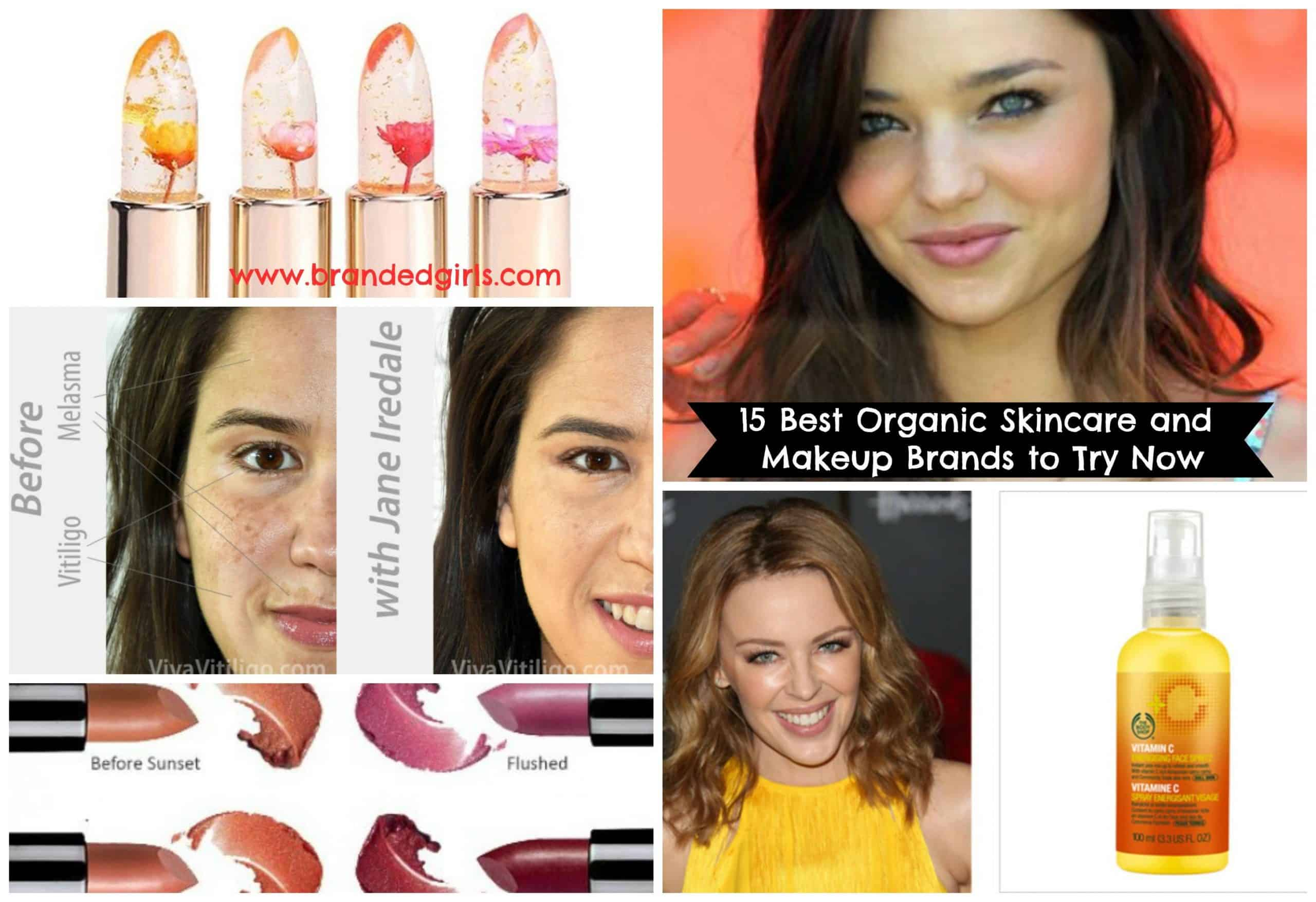 best organic natural makeup skincare brands for women