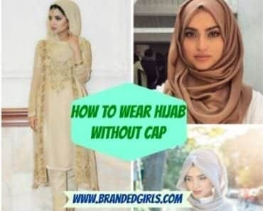 hijab without cap
