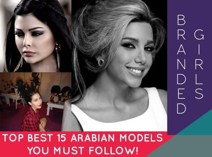 top best arabian models to follow