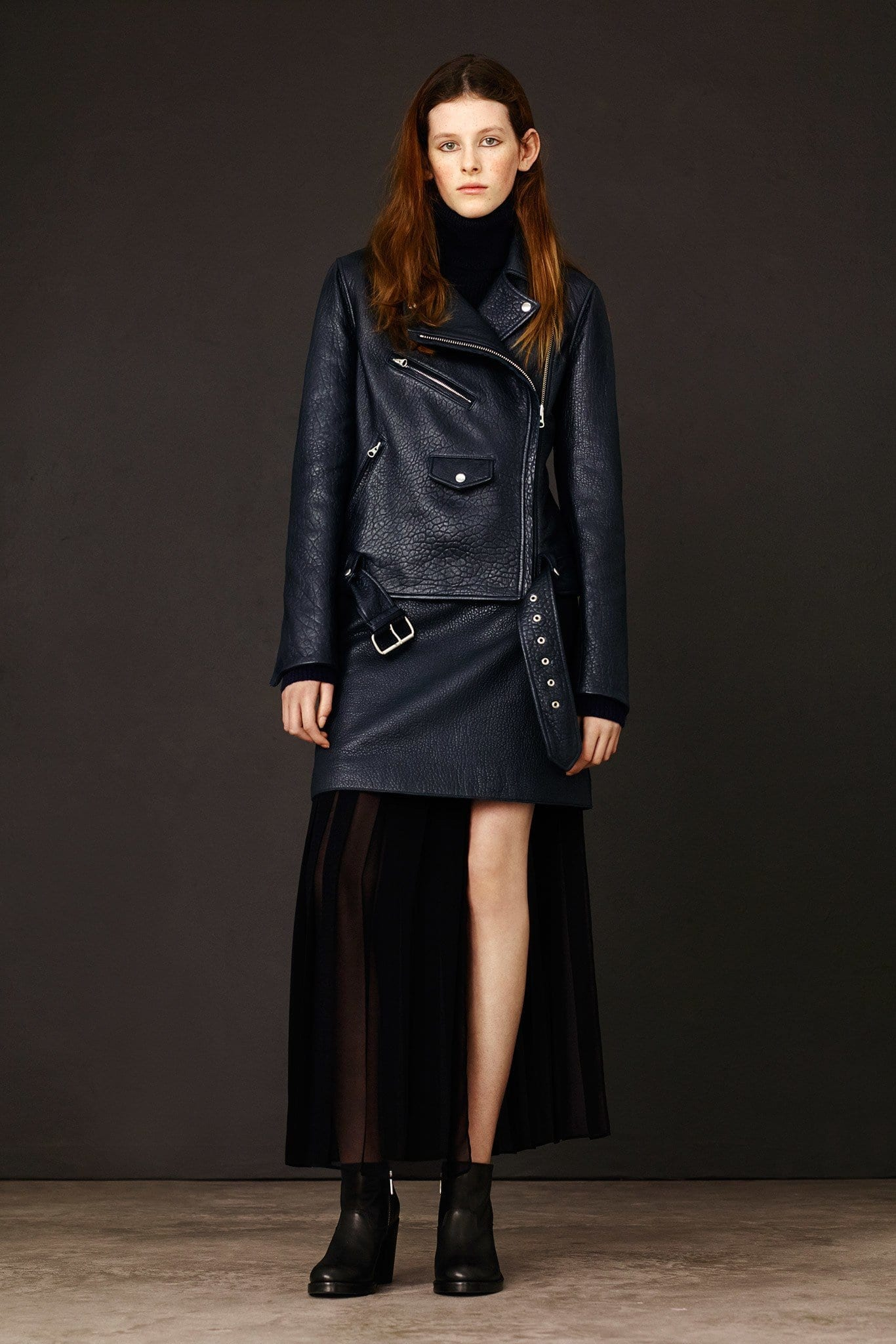 Alexander-McQueen-Tailored-Biker-Jacket Top Women Leather Jacket Brands-15 Most Expensive Brands 2017