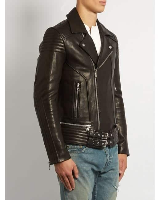 Balmains-Quilted-Panel-Jacket Top Brands for Leather Jackets-15 Most Popular Brands 2017 for Men