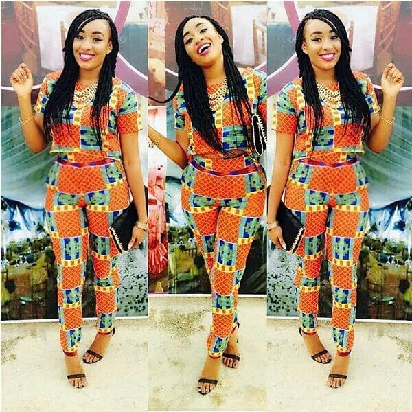 Elegant-Ankara-Style-Pants Cute Ankara Styles- 18 Latest Ankara Fashion Ideas for Teens