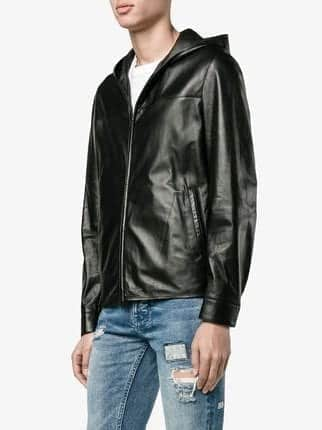 Fendis-Enchanting-Pitch-Black-Jackets Top Brands for Leather Jackets-15 Most Popular Brands 2017 for Men