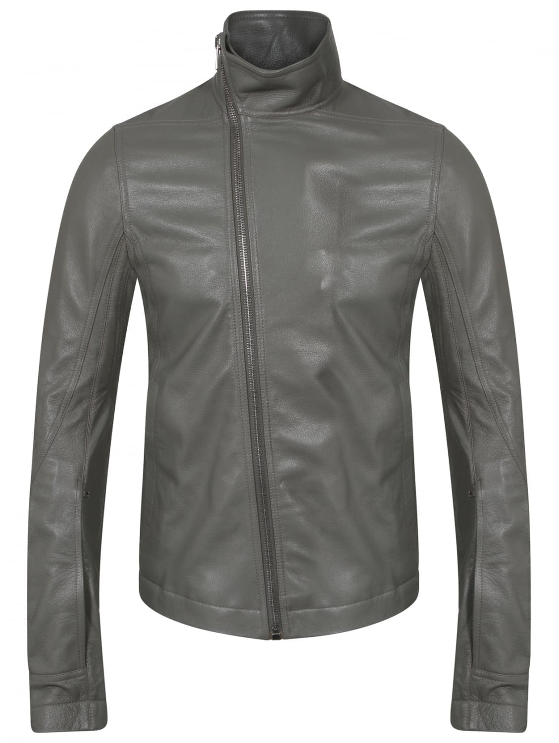 Rick-Owens-Classic-Gray-Jacket Top Brands for Leather Jackets-15 Most Popular Brands 2017 for Men