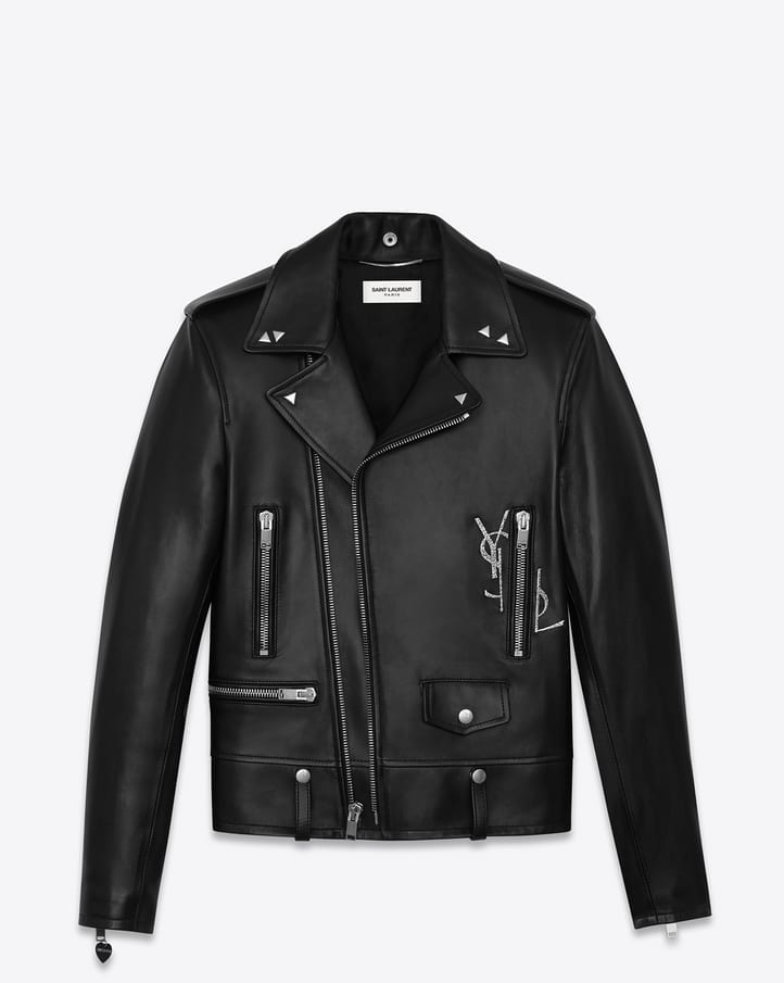 Saint-Laurents-Zipped-Jackets-1 Top Brands for Leather Jackets-15 Most Popular Brands 2017 for Men