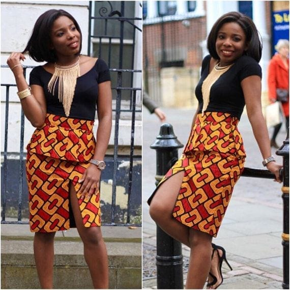 Short-Ankaras-for-Parties Cute Ankara Styles- 18 Latest Ankara Fashion Ideas for Teens