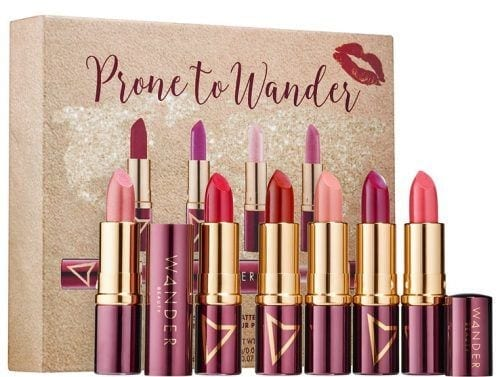 Wander-Beauty-Prone-to-Wander-Lipstick-Set-500x377 Celebrities Makeup Brands - 15 Brands Owned by Celebrities