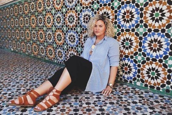 najla-kadoor-arab-fashion-blogger Top 10 Arab Fashion Bloggers to Follow in 2017