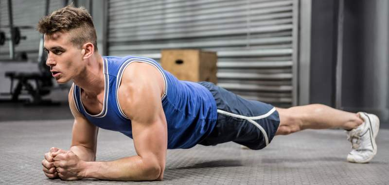 plank-exercise Skinny Guys with Abs-Want to Get Six Packs? See This Guide