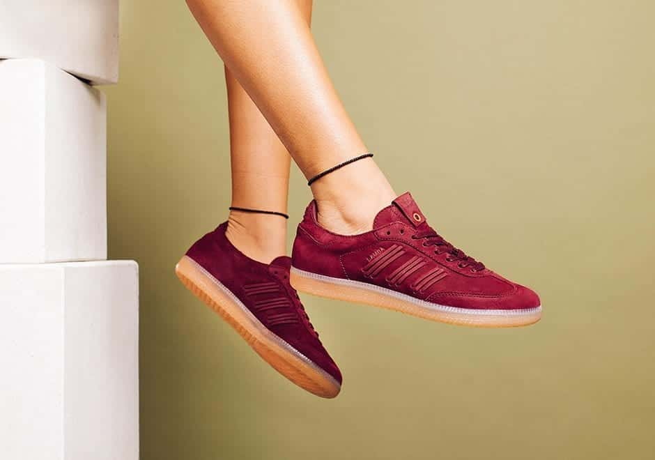 "Adidas-Consortium-Womens-""Deep-Hue""-Samba Branded Shoes for Women-20 Best Designer Shoes to Buy in 2017"