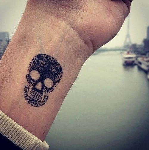 Cool-Wrist-Tattoos Skinny Guys with Tattoos-18 Best Tattoo Designs for Slim Guys