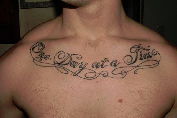 Quotation-Tattoos Skinny Guys with Tattoos-18 Best Tattoo Designs for Slim Guys