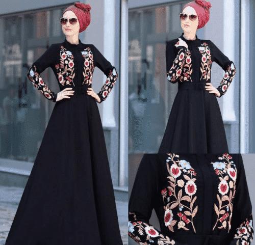 Turkish-abaya-13-500x481 Turkish Abaya Fashion - 20 Ways to Wear Turkish Style Abaya