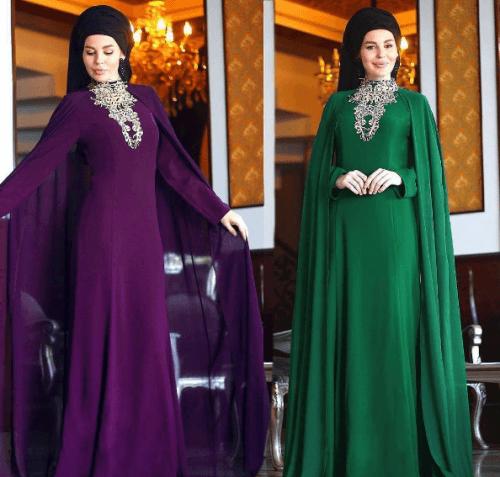 Turkish-abaya-18-500x477 Turkish Abaya Fashion - 20 Ways to Wear Turkish Style Abaya