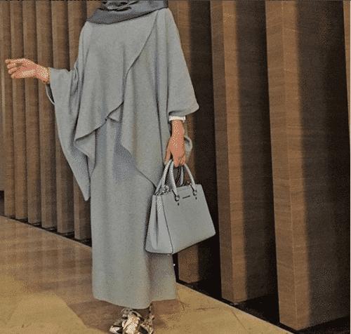 Turkish-abaya-3-500x476 Turkish Abaya Fashion - 20 Ways to Wear Turkish Style Abaya
