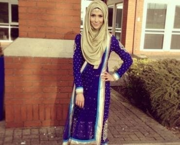 hijab with ethnic wear