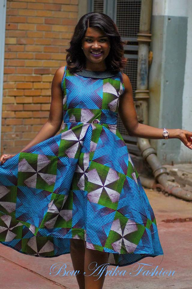 Chic-Frocks-for-Parties Bow Afrika Clothes- Top 30 Chic Bow Afrika Outfits for Women