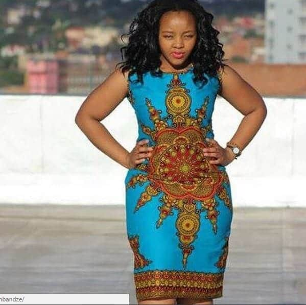 Dashiki-Pencil-Dress-by-Bow-Afrika Bow Afrika Clothes- Top 30 Chic Bow Afrika Outfits for Women