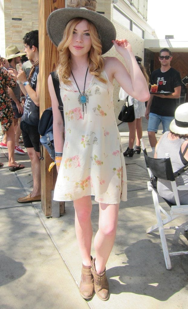 Faded-Floral-Print-Dress Funky Festival Outfits - 30 Funky Outfits for Girls to Wear