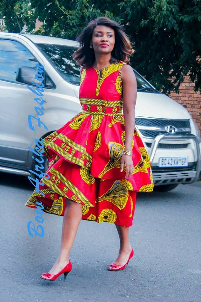 Frilly-Partly-Style-Dress Bow Afrika Clothes- Top 30 Chic Bow Afrika Outfits for Women