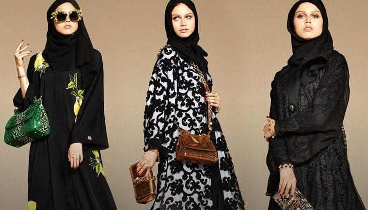 Has-such-a-step-taken-before Ramadan Hijab & Abaya Collection by Mango and Tommy Hilfiger