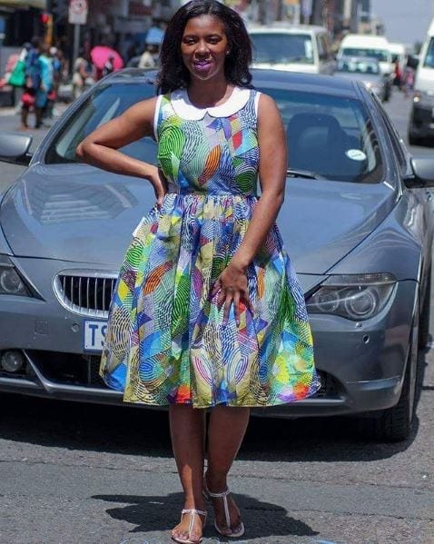 Multicolor-Summer-Dress Bow Afrika Clothes- Top 30 Chic Bow Afrika Outfits for Women