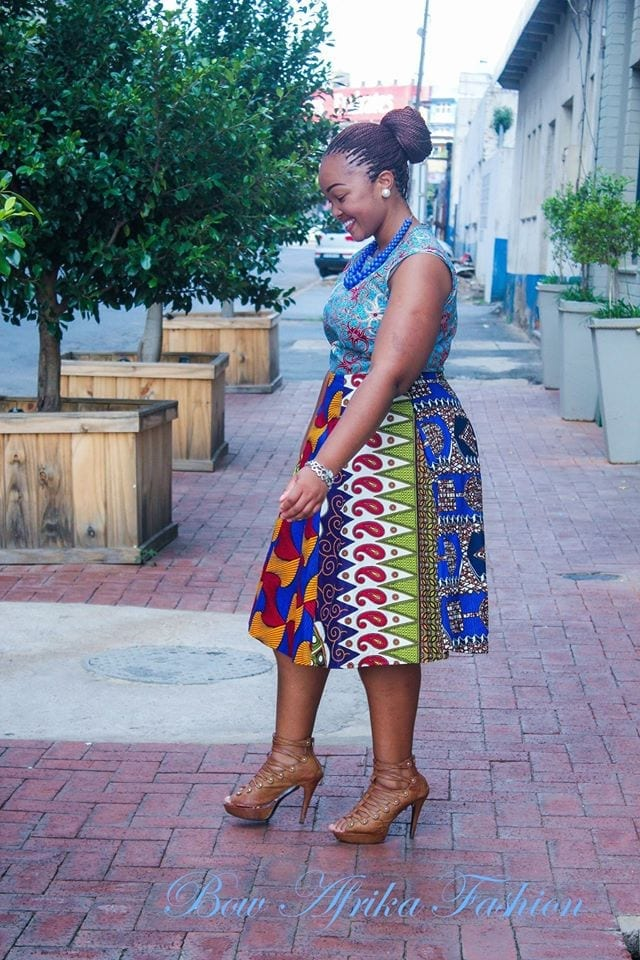Perfect-Frock-for-Spring Bow Afrika Clothes- Top 30 Chic Bow Afrika Outfits for Women