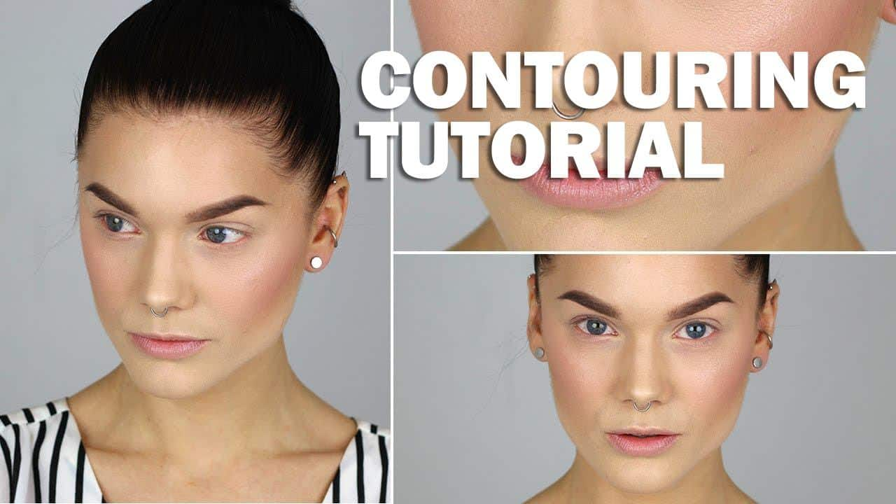 How to contour your face step by step face contouring tutorial baditri Gallery