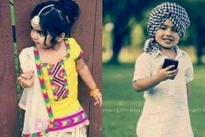 punjabi dress for baby girl and boys
