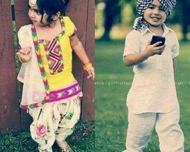 punjabi dress for baby girl and boys