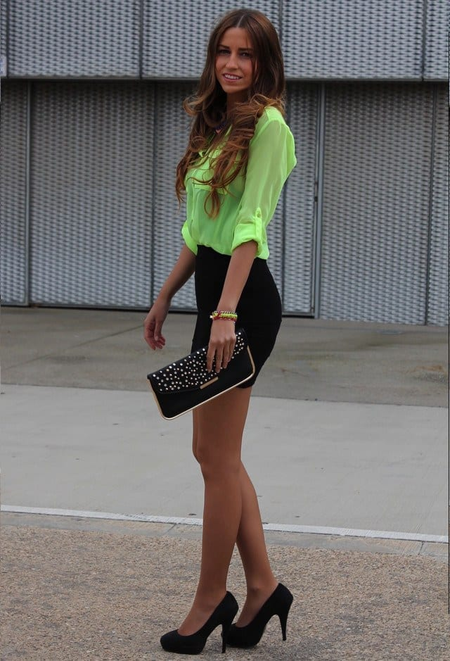 Hot-Funky-Outfit-for-Working-Women Funky Outfits for Ladies - 30 Ways to Look Funky for Women