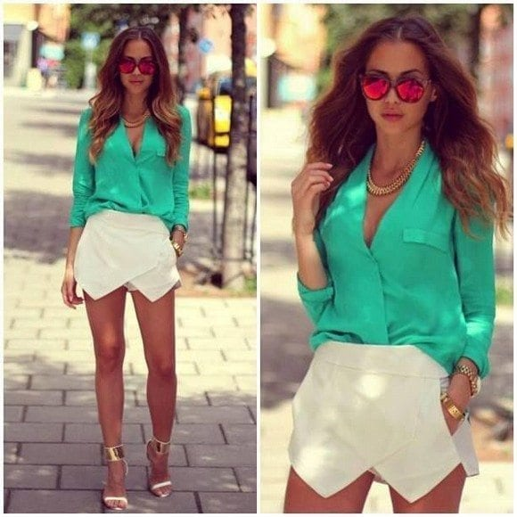 Semi-formal-Funky-Attire Funky Outfits for Ladies - 30 Ways to Look Funky for Women