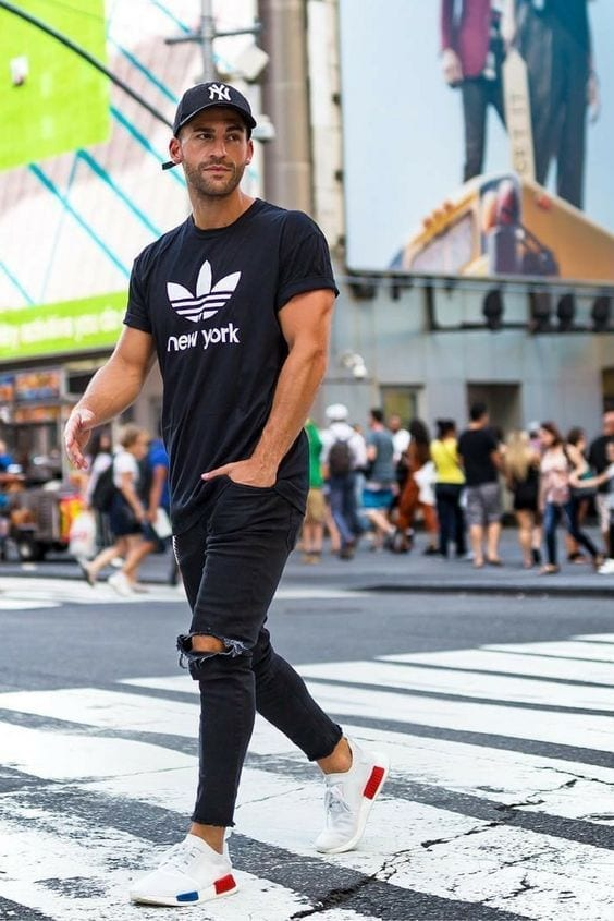 Sporty-Look-for-Men 30 Funky Outfits for Guys Trending These Days