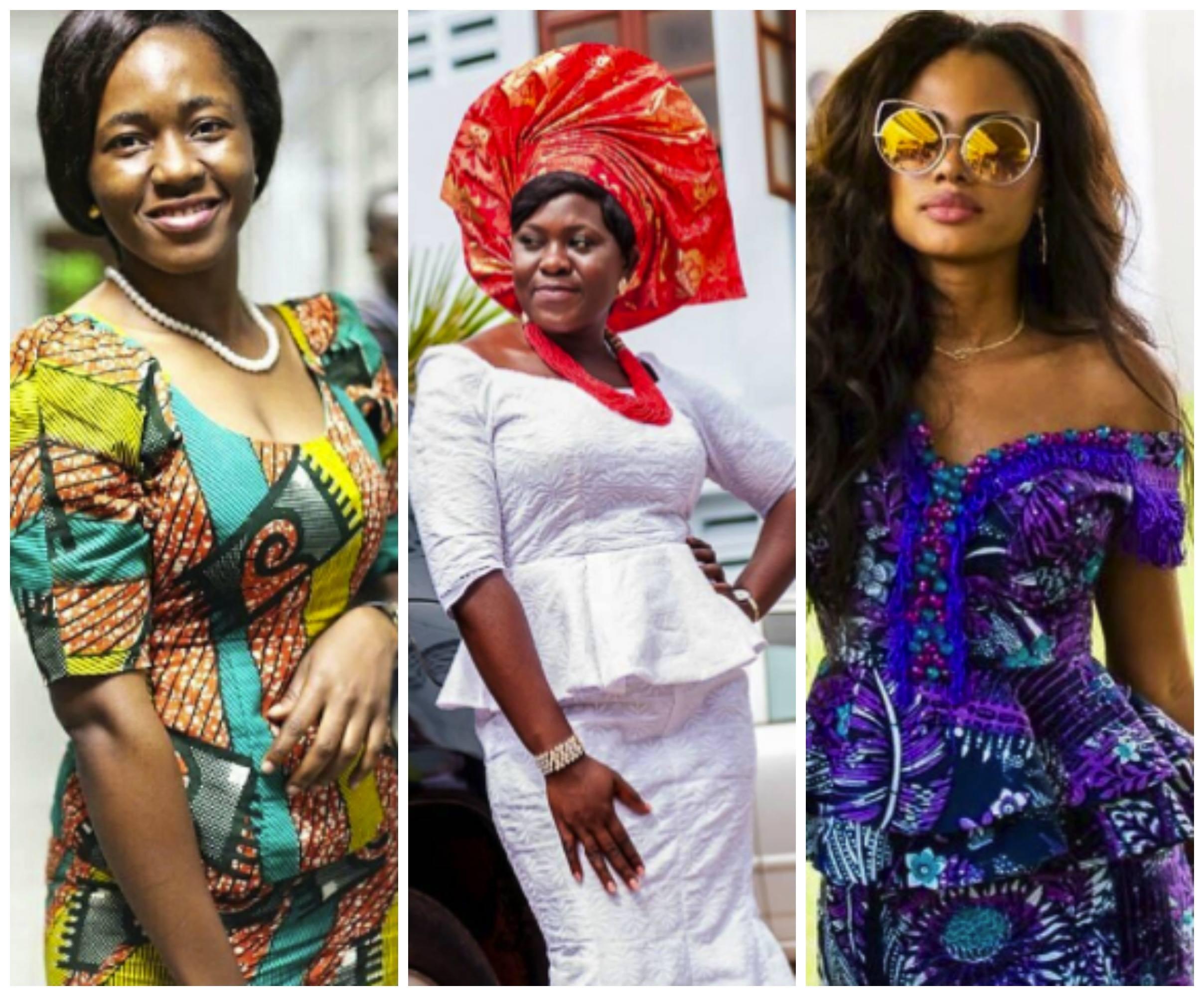 Ghanaian Women Kaba And Slit 20 Beautiful Kaba Outfit Ideas