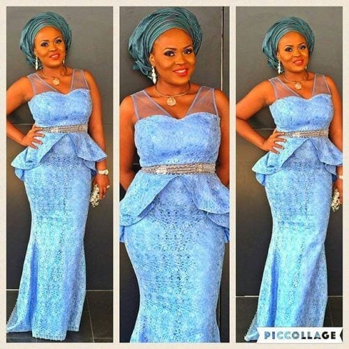 kaba-and-slit-gown-for-brides--500x500 Ghanaian Women Kaba and Slit- 20 Beautiful Kaba Outfit Ideas
