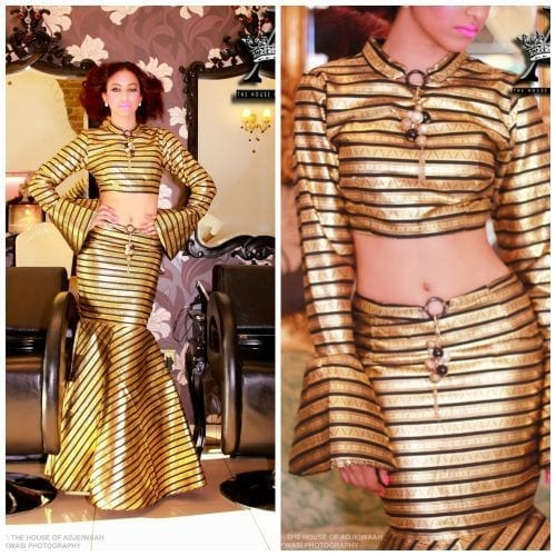 kaba-and-slit-modern-outfit-500x500 Ghanaian Women Kaba and Slit- 20 Beautiful Kaba Outfit Ideas