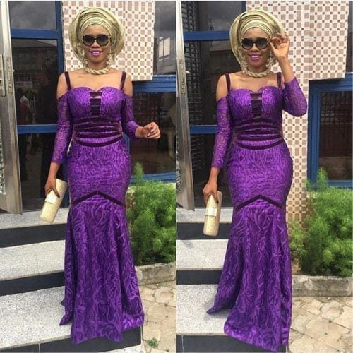 kaba-and-slit-party-outfit-500x500 Ghanaian Women Kaba and Slit- 20 Beautiful Kaba Outfit Ideas
