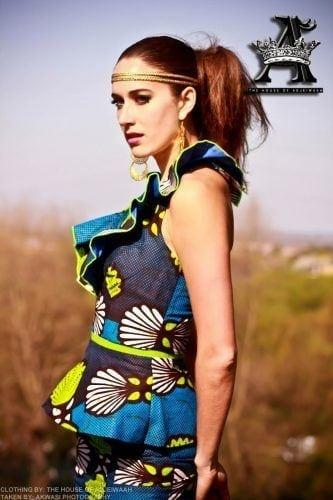 kaba-and-slit-peplum-2-333x500 Ghanaian Women Kaba and Slit- 20 Beautiful Kaba Outfit Ideas