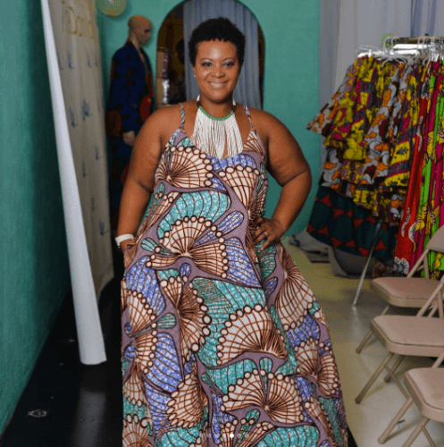 kaba-dress-for-plus-size-497x500 Ghanaian Women Kaba and Slit- 20 Beautiful Kaba Outfit Ideas