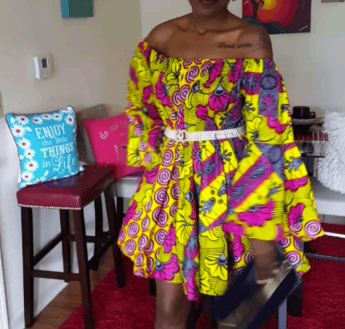 kaba-dress-for-plus-size-girls-500x476 Ghanaian Women Kaba and Slit- 20 Beautiful Kaba Outfit Ideas