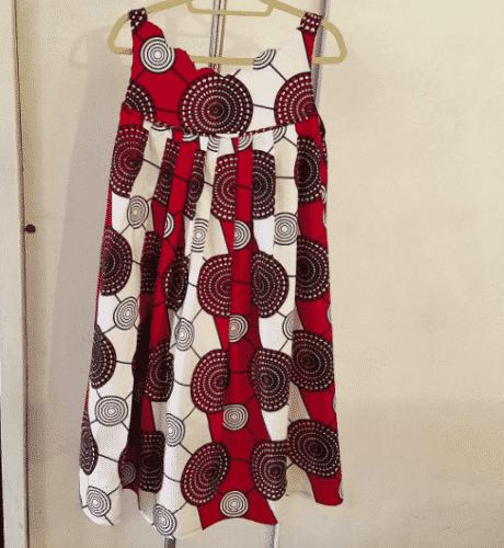 kaba-summer-dress-460x500 Ghanaian Women Kaba and Slit- 20 Beautiful Kaba Outfit Ideas