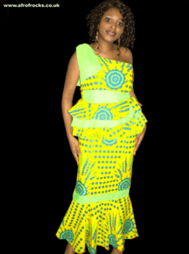 modern-kaba-and-slit-371x500 Ghanaian Women Kaba and Slit- 20 Beautiful Kaba Outfit Ideas