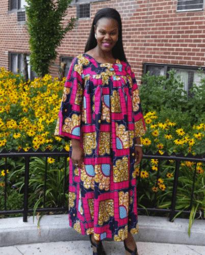 summer-kaba-dress-1-402x500 Ghanaian Women Kaba and Slit- 20 Beautiful Kaba Outfit Ideas