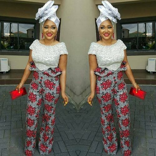 tucked-in-kaba-andf-slit-500x500 Ghanaian Women Kaba and Slit- 20 Beautiful Kaba Outfit Ideas