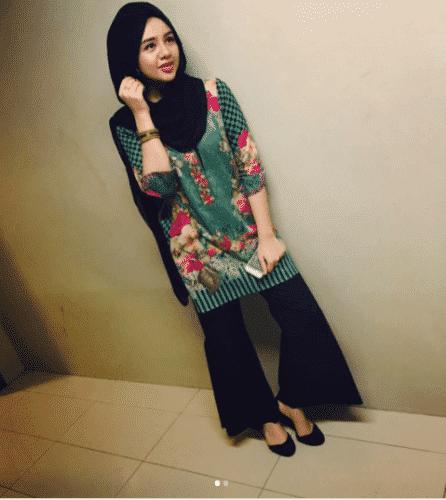 casual-gharara-pants-outfit-446x500 Gharara Pant Outfits-20 Beautiful Outfits with Gharara Pants