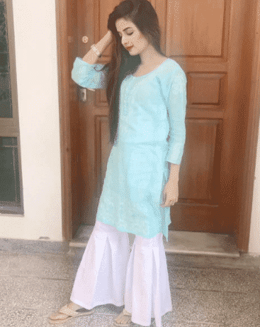 casual-gharara-pants Gharara Pant Outfits-20 Beautiful Outfits with Gharara Pants