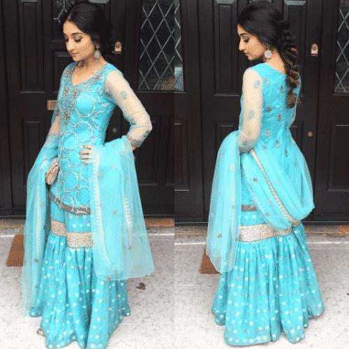 disney-style-gharara-pants-500x500 Gharara Pant Outfits-20 Beautiful Outfits with Gharara Pants