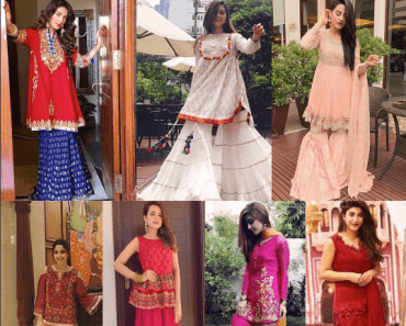 how to wear gharara pants