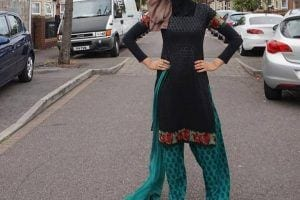 hijab with shalwar kameez